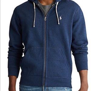 Polo Ralph Lauren fleece hoodie large